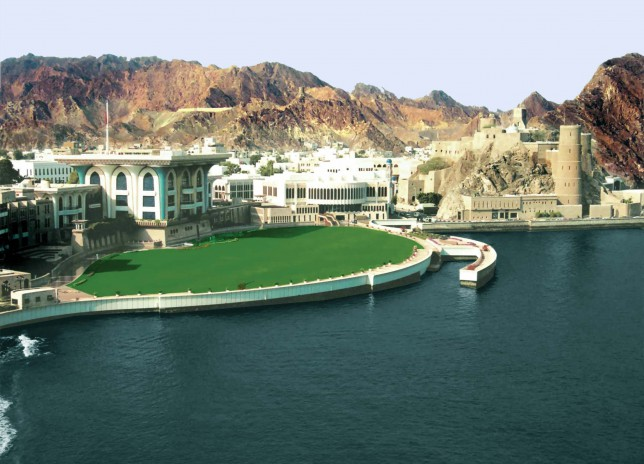 Palace of the Sultan of Oman