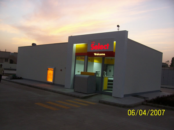 Minaean Shell Gas Outlets