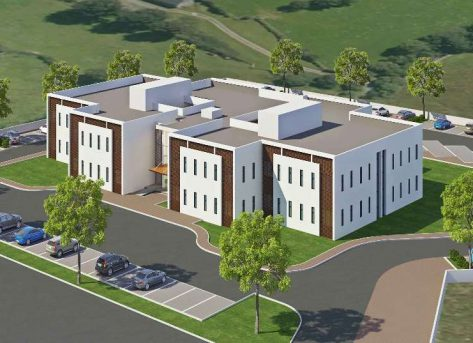 Center of Excellence Teaching Hospital Construction Project, Zambia Concept  Proposal Under Finalization